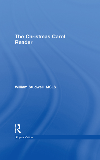 The Christmas Carol Reader By: B Lee Cooper,Frank Hoffmann,William E Studwell