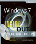 Windows 7 Inside Out, Deluxe Edition: