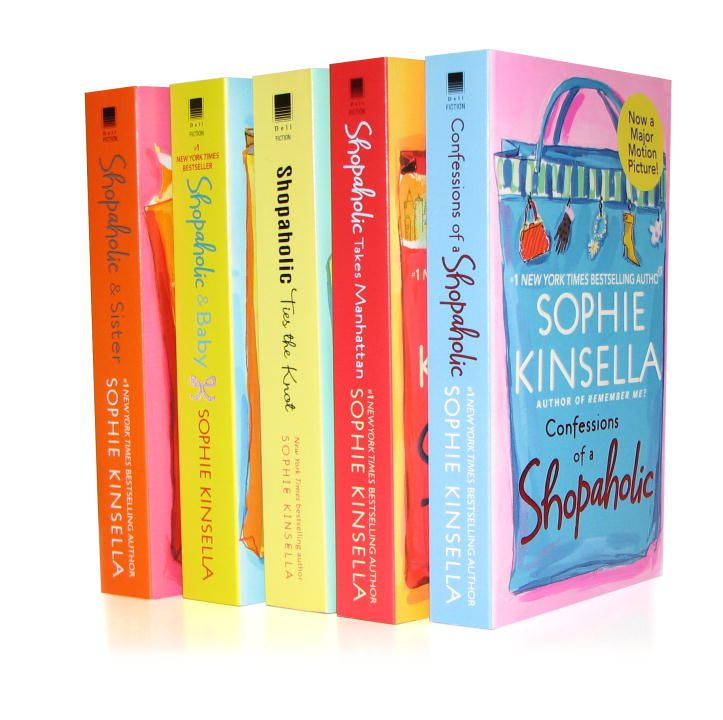 Sophie Kinsella's Shopaholic 5-Book Bundle: Confessions Of A Shopaholic  Shopaholic Takes Manhattan  Shopaholic Ties The Knot  Shopaholic & Sister  Shopaholic &