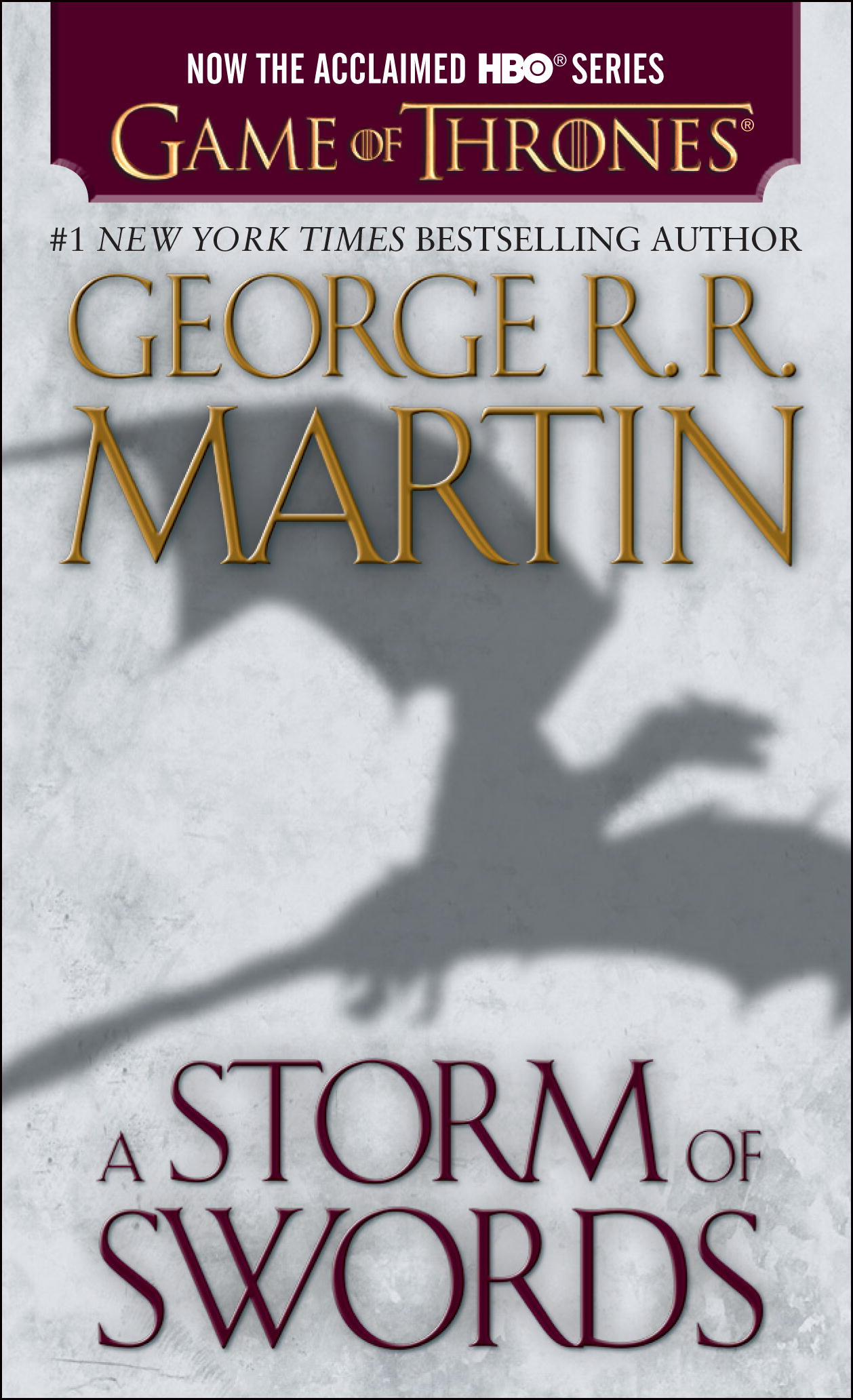 Book Cover: A Storm of Swords: A Song of Ice and Fire: Book Three