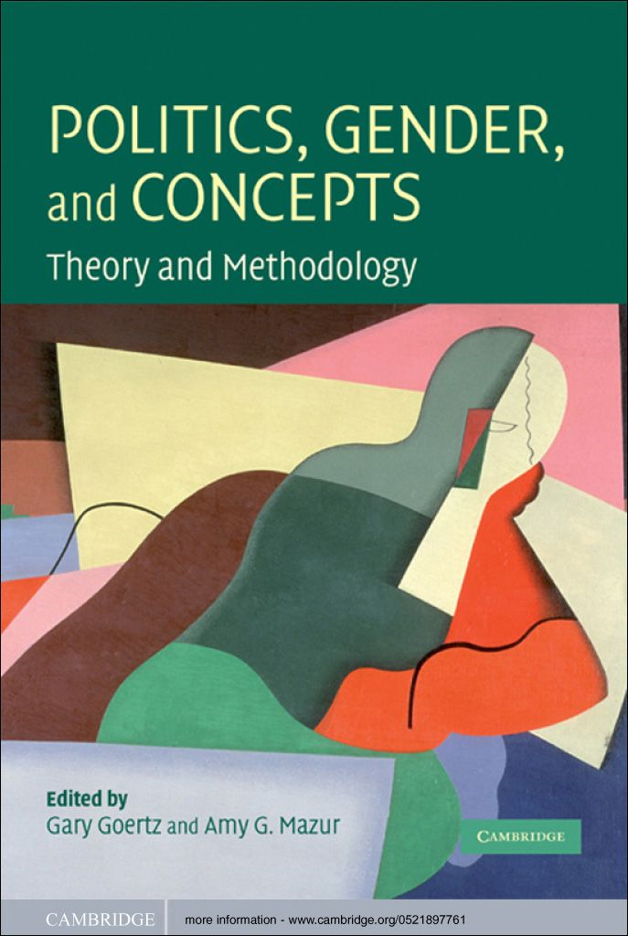 Politics,  Gender,  and Concepts Theory and Methodology
