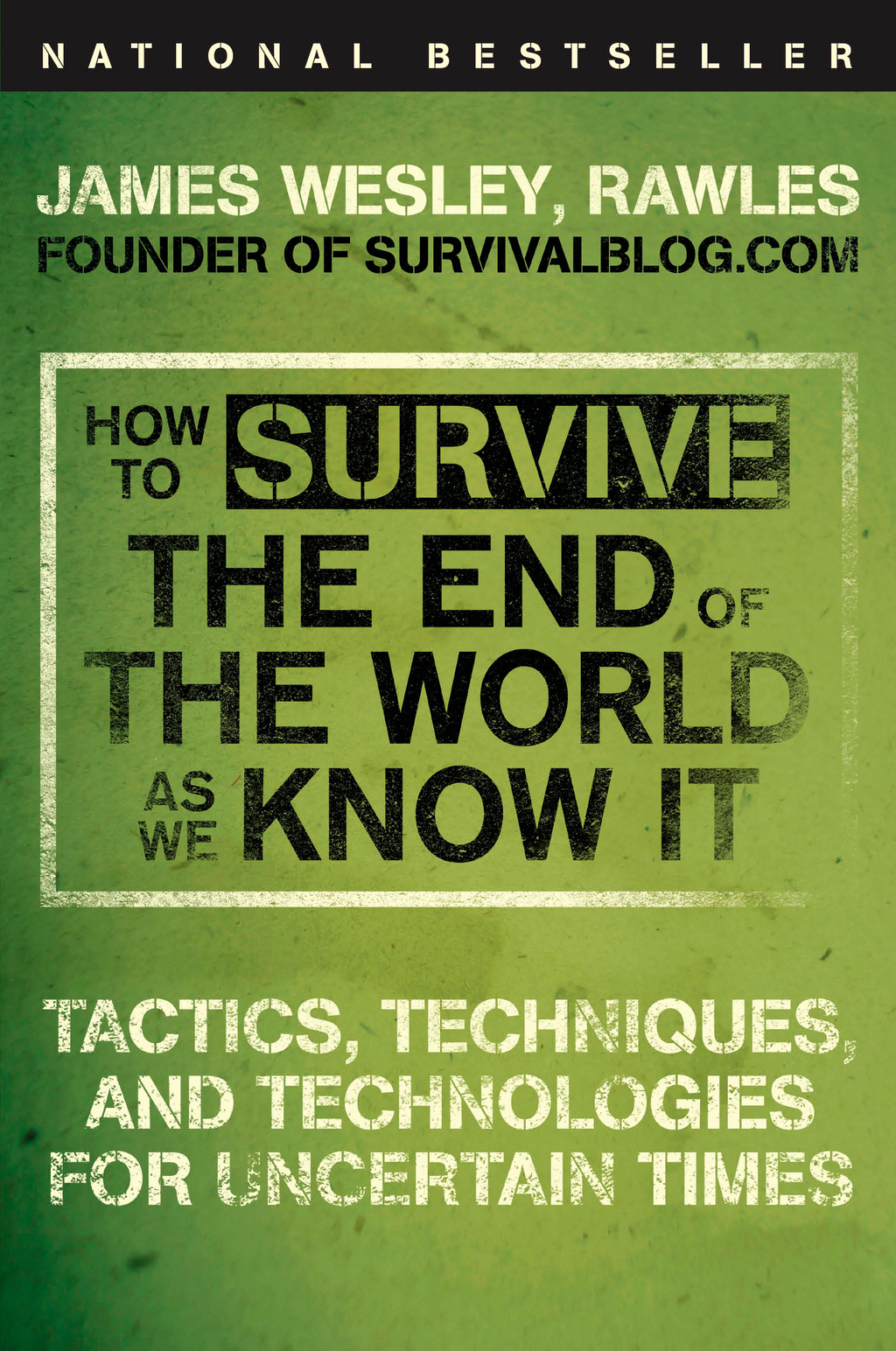 How to Survive the End of the World as We Know It By: James Wesley, Rawles