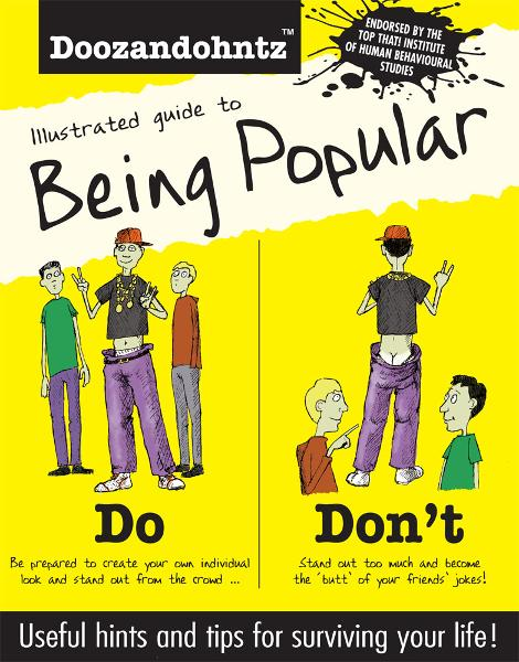Illustrated Guide to Being Popular