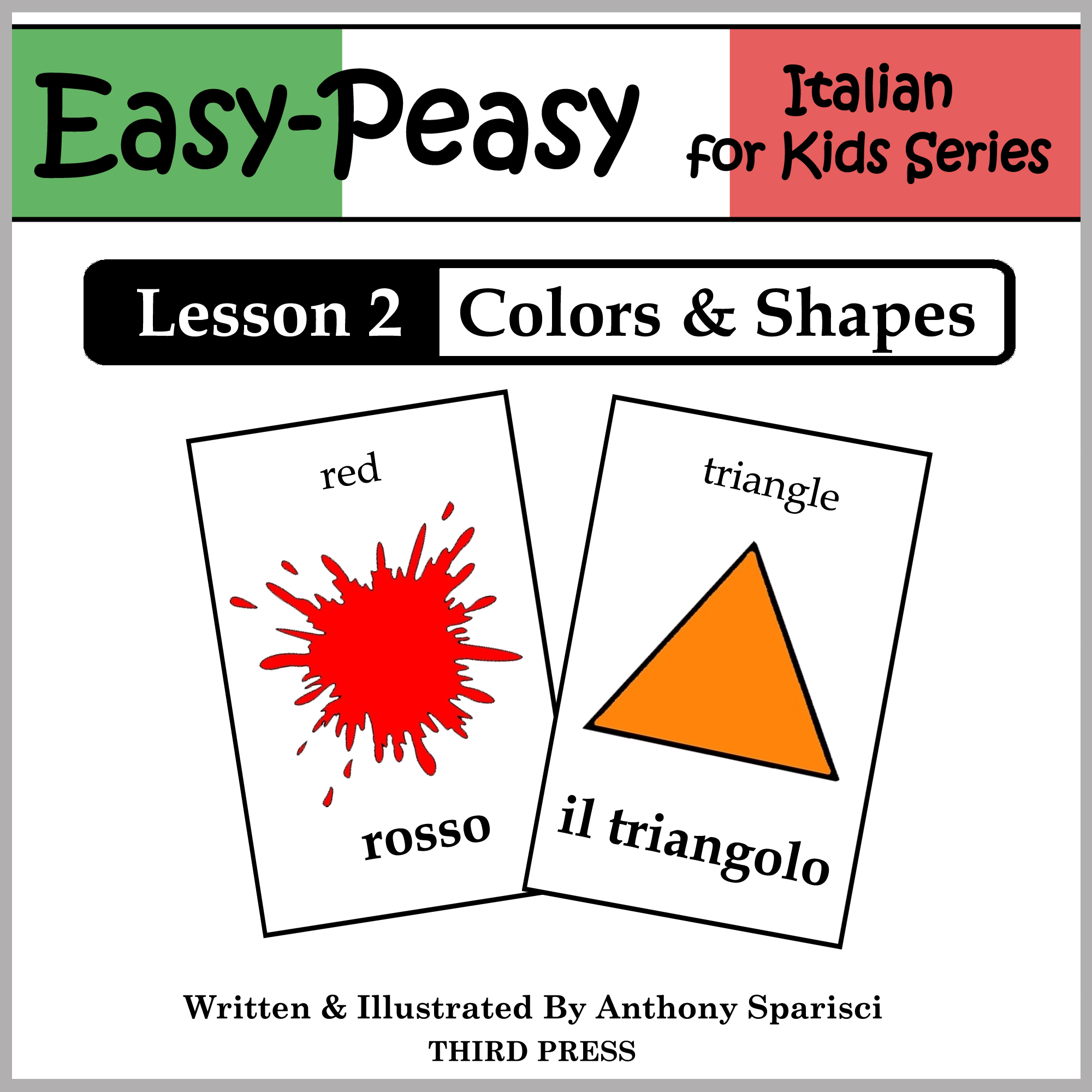Italian Lesson 2: Colors & Shapes