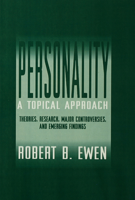 Personality: A Topical Approach