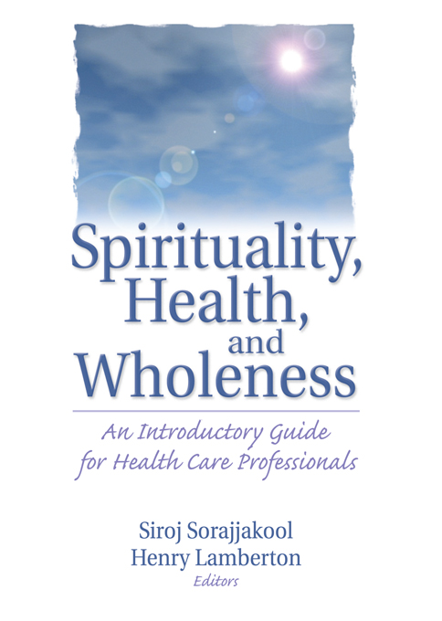 Spirituality  Health  and Wholeness
