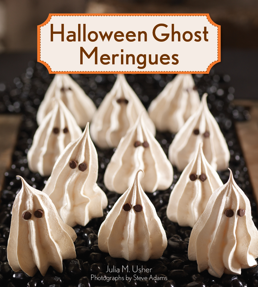 Halloween Ghost Meringue
