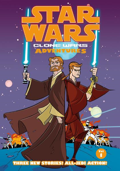 Star Wars: Clone Wars Adventures Vol. 1 By: Haden Blackman, Fillbach Brothers, Ben Caldwell (Artist), Matt Fillbach (Artist), Shawn Fillbach (Artist)