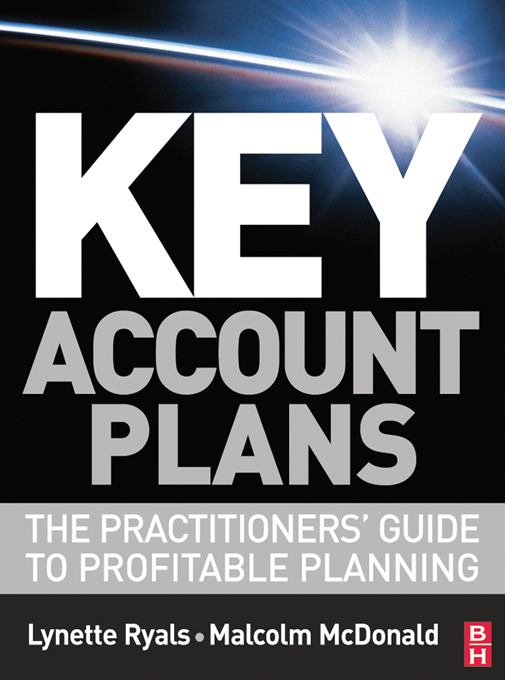 Key Account Plans