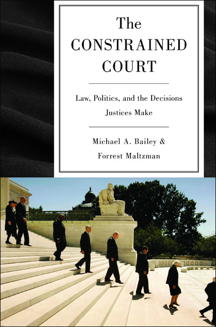 The Constrained Court By: Forrest Maltzman,Michael A. Bailey