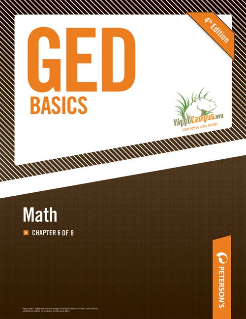 GED Basics: Math: Chapter 6 of 6 By: Peterson's