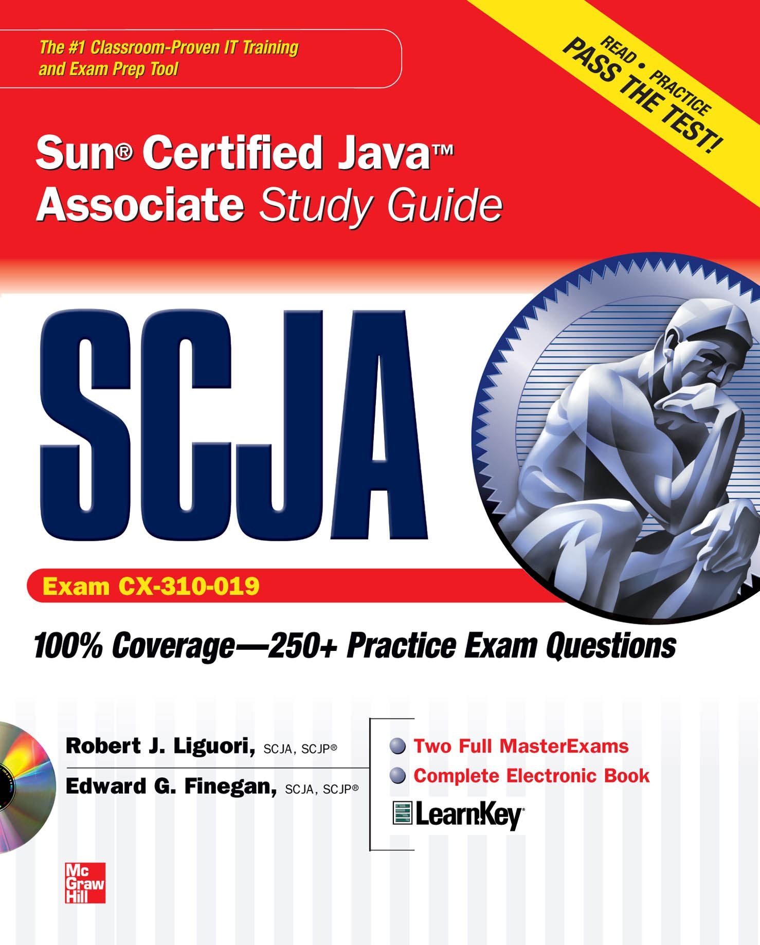 SCJA Sun Certified Java Associate Study Guide (Exam CX-310-019)
