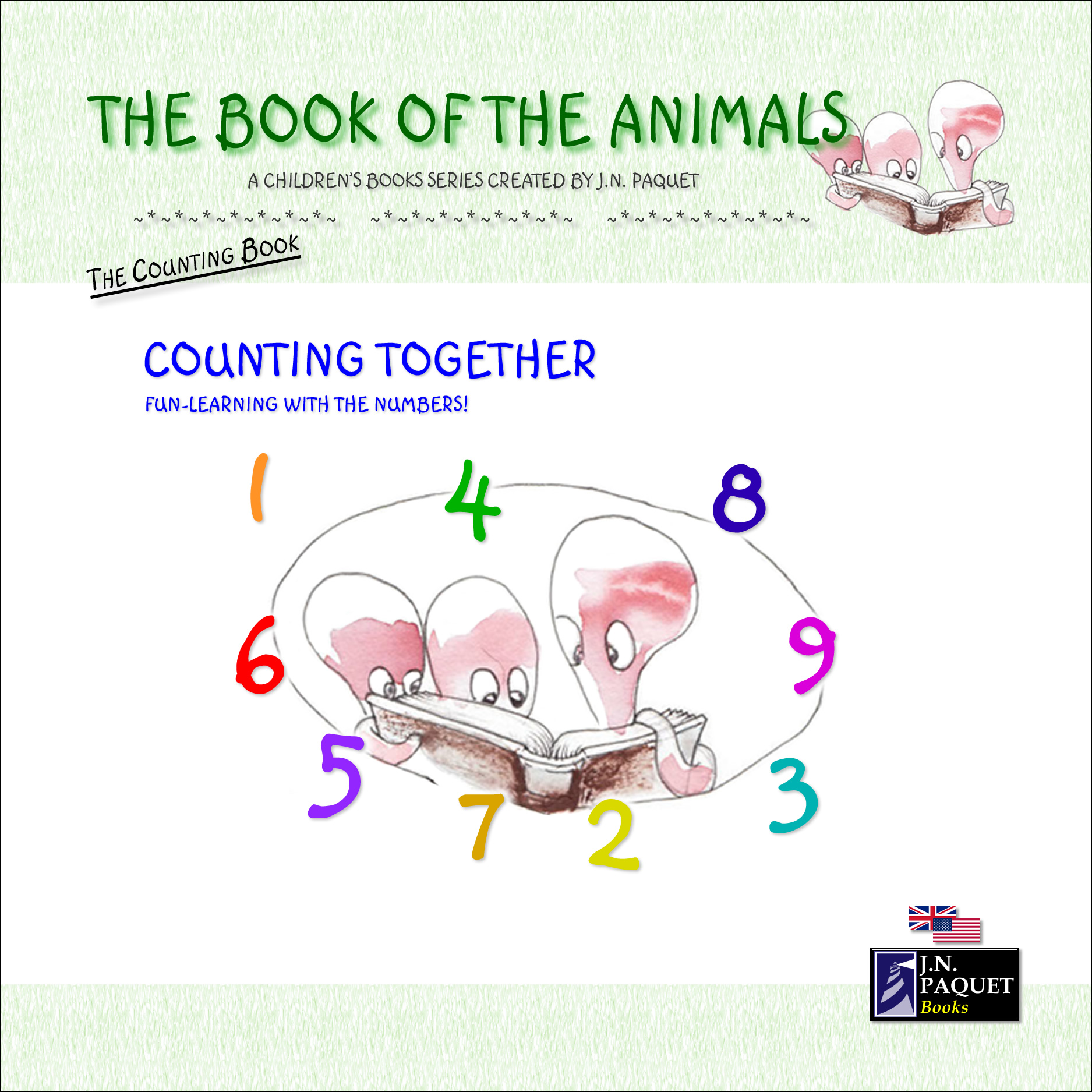 J.N. PAQUET - The Book of The Animals - Counting Together