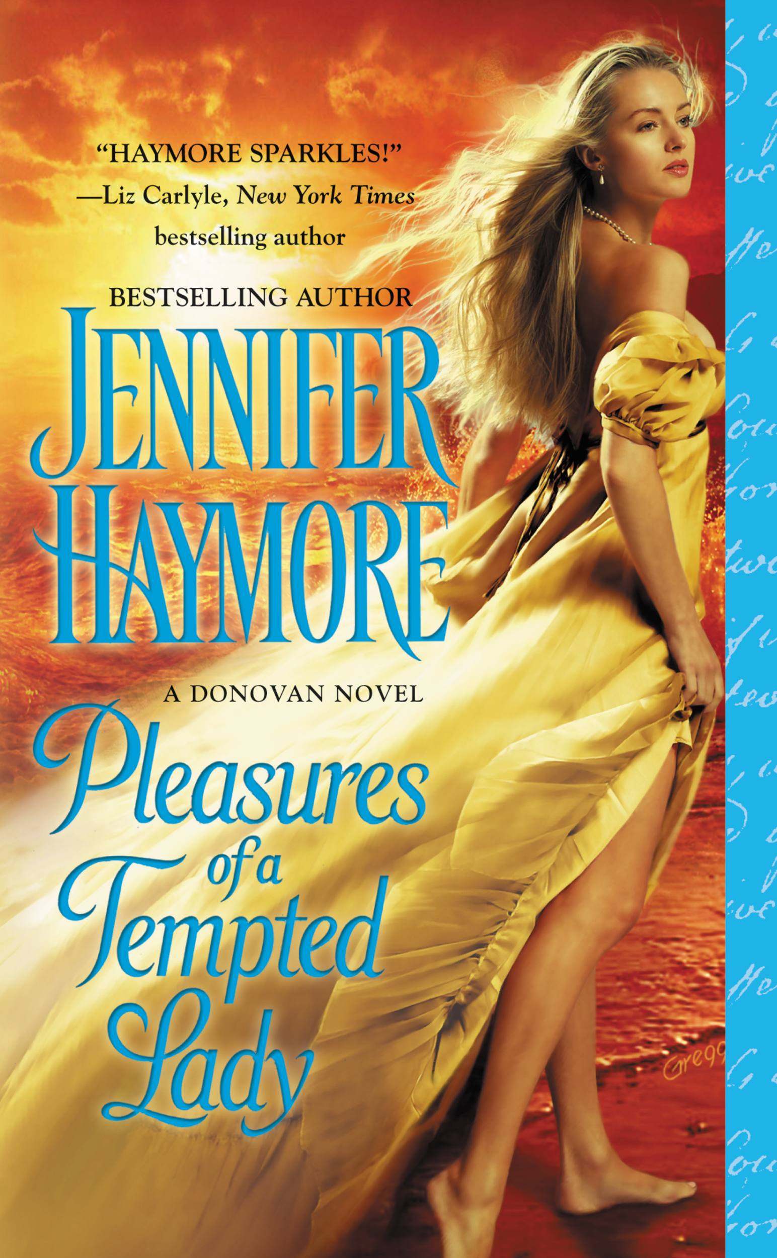 Pleasures of a Tempted Lady By: Jennifer Haymore
