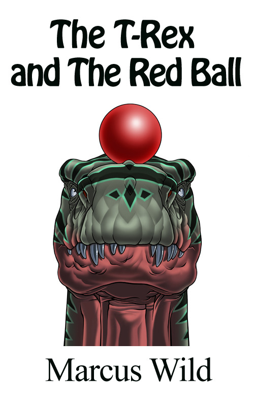 The T-Rex and the Red Ball