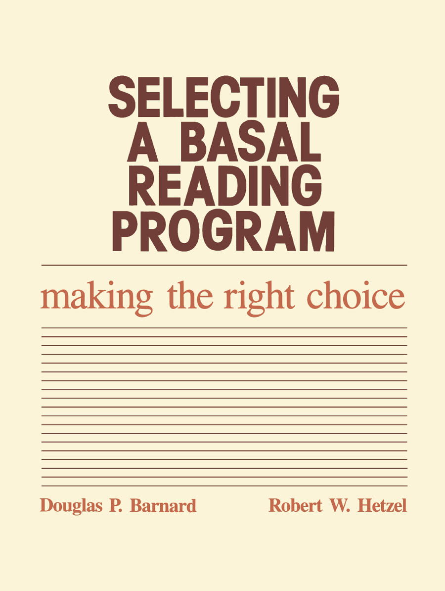 Selecting a Basal Reading Program