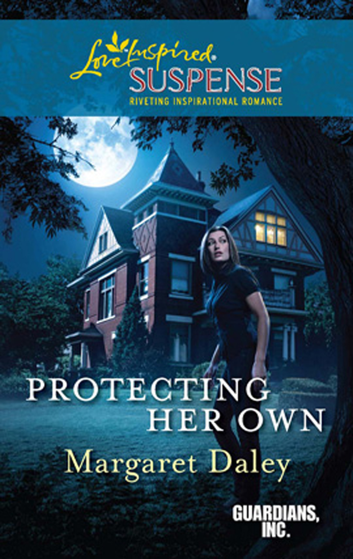 Protecting Her Own (Mills & Boon Love Inspired Suspense) (Guardians,  Inc. - Book 2)