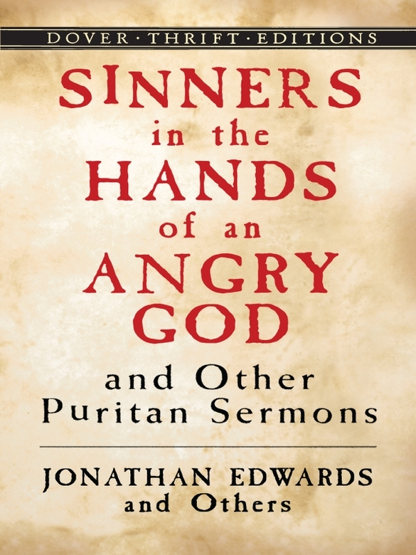 Sinners in the hands of an angry god essay
