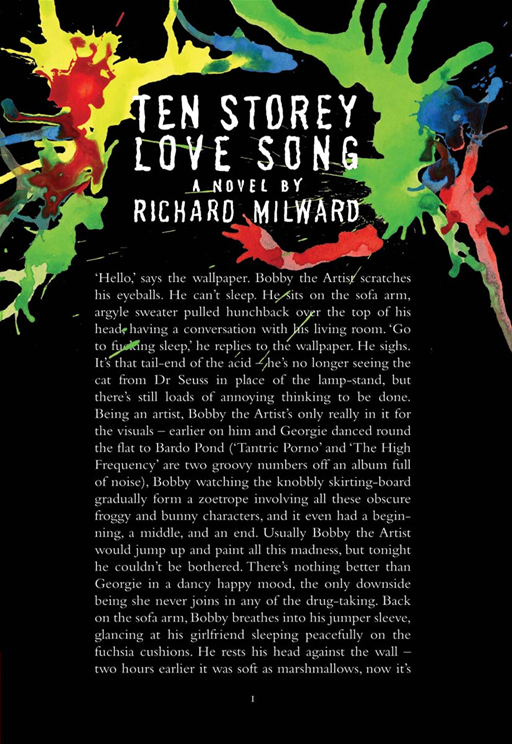 Ten Storey Love Song By: Richard Milward