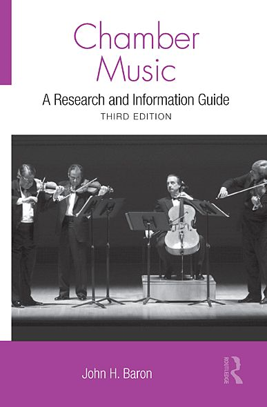Chamber Music: A Research and Information Guide