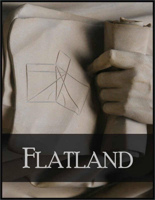 an analysis of the flatland by edwin a abbott In 1884, edwin abbott abbott wrote a mathematical adventure set in a two-dimensional plane world, populated by a hierarchical society of regular geometrical figures.