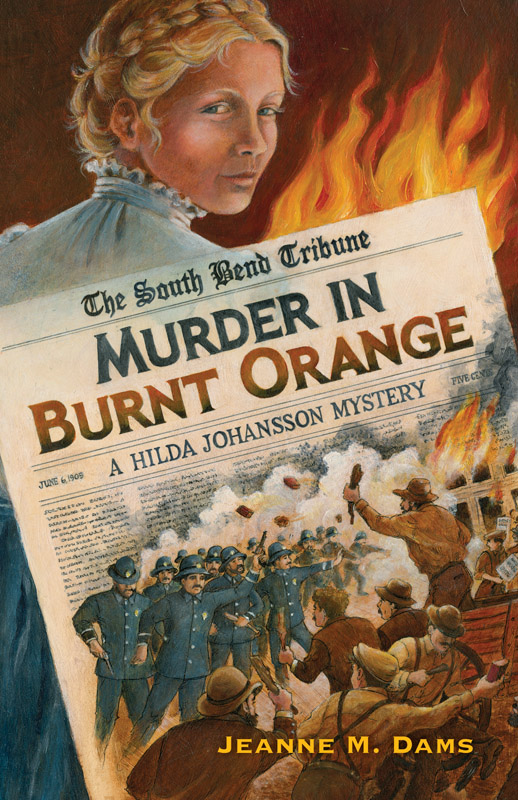 Murder in Burnt Orange