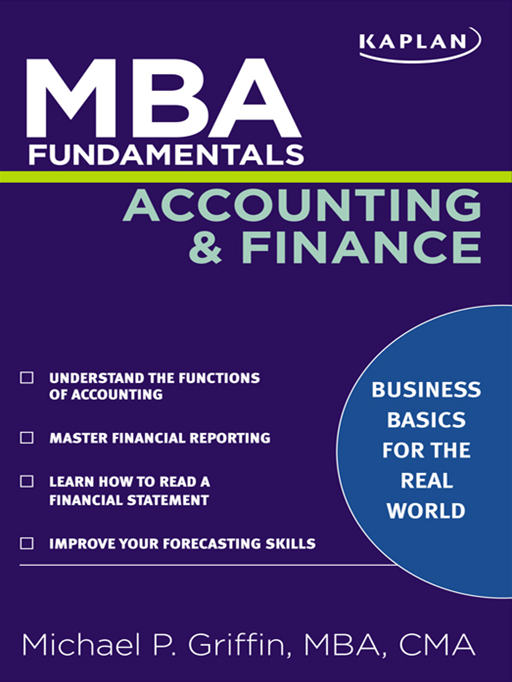 MBA Fundamentals Accounting and Finance