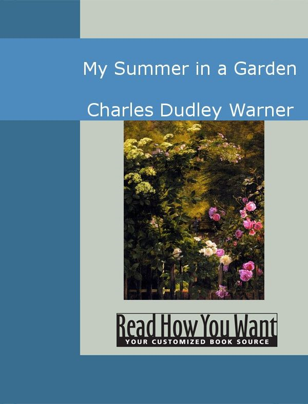 My Summer In A Garden