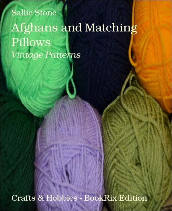 Afghans and Matching Pillows