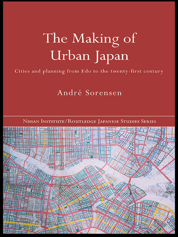 The Making of Urban Japan