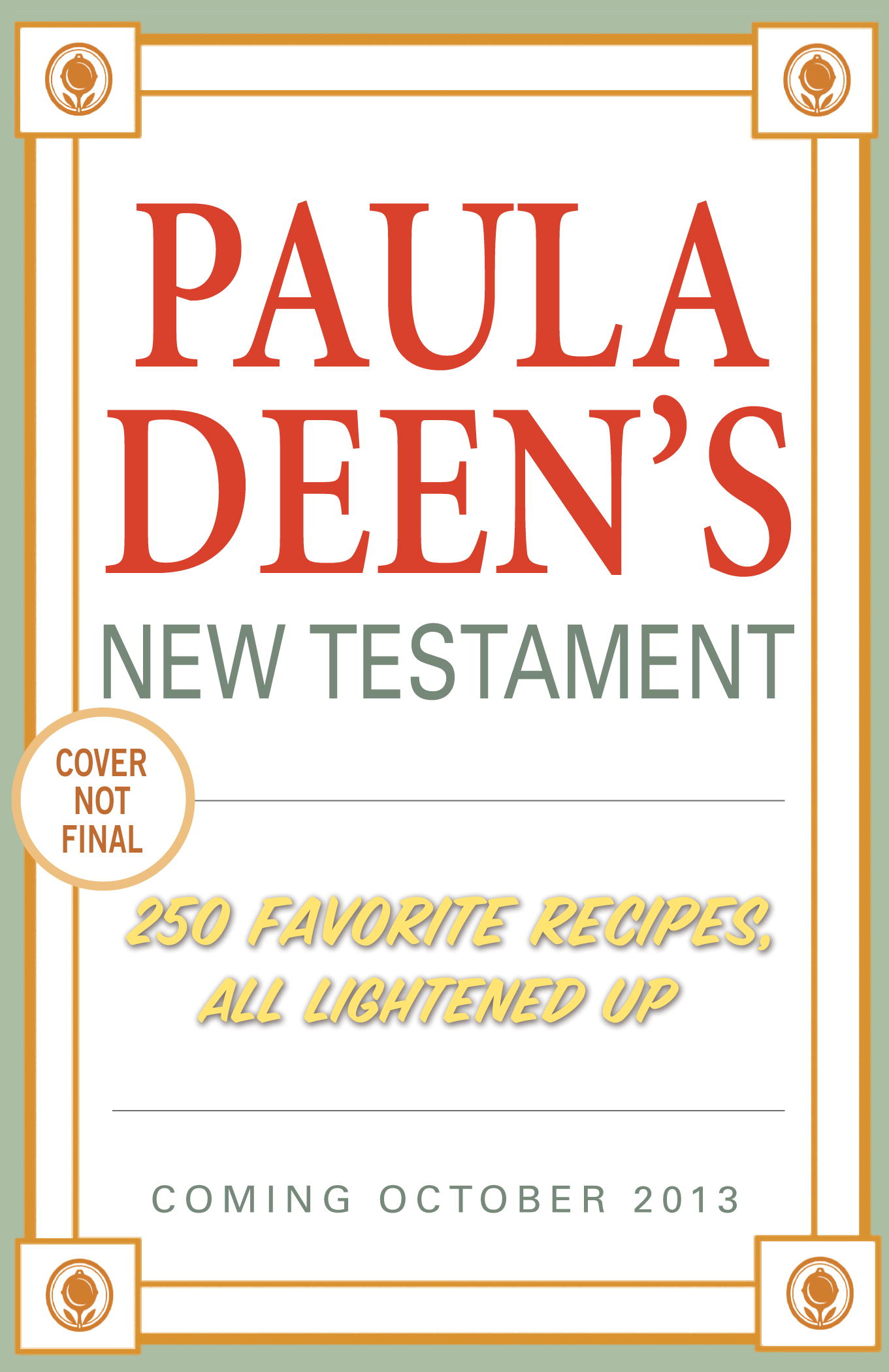 Paula Deen's New Testament