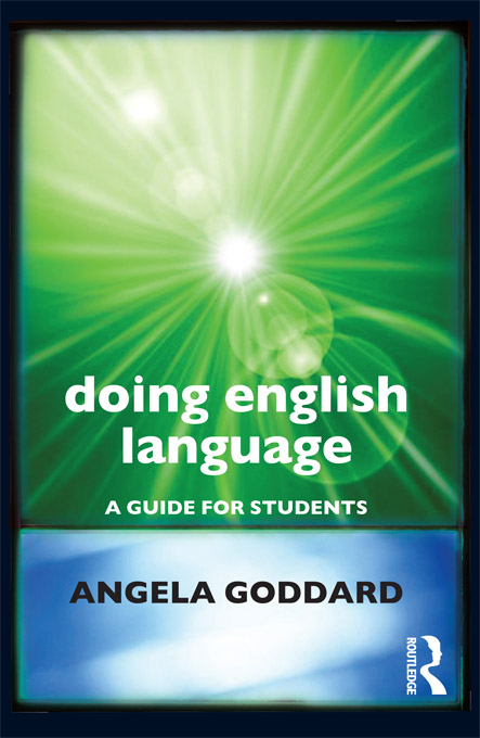 Doing English Language (Goddard)