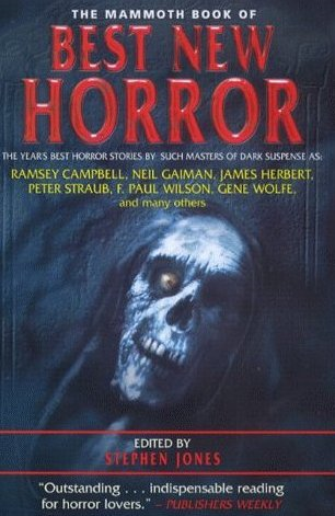 The Mammoth Book of Best New Horror 2000 By: Stephen Jones