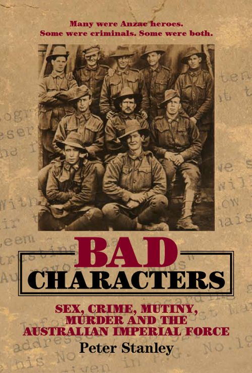 Bad Characters By: Peter Stanley