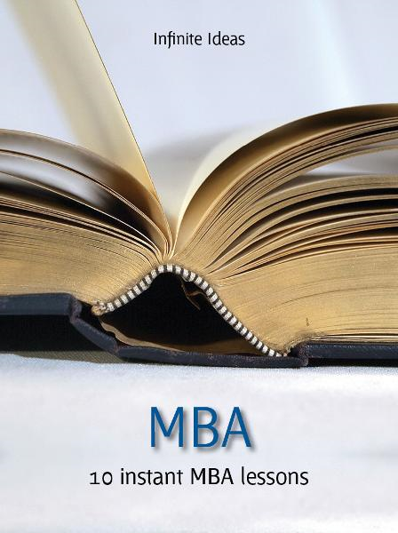 MBA By: Infinite Ideas,Nicholas Bate