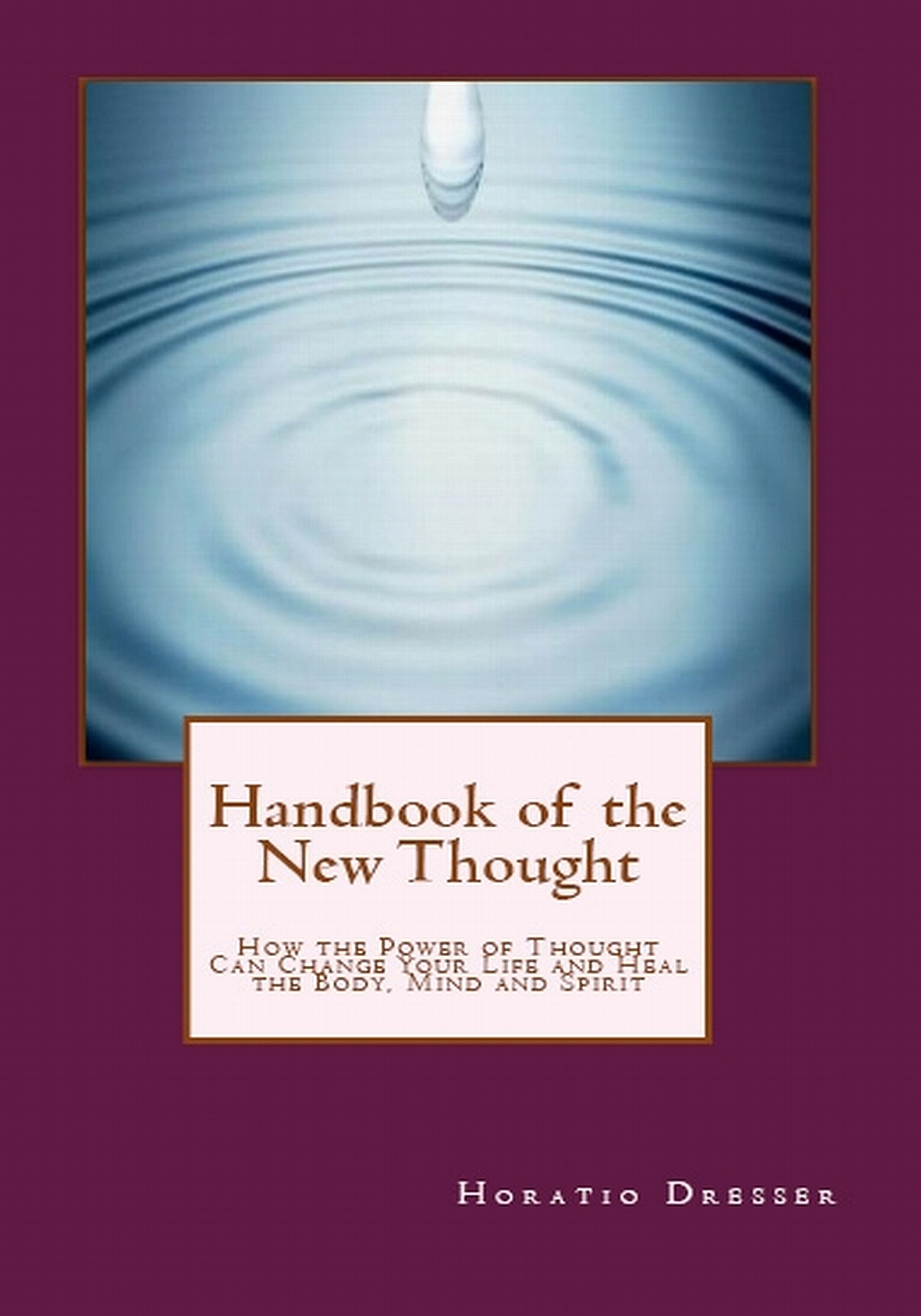 Handbook of the New Thought