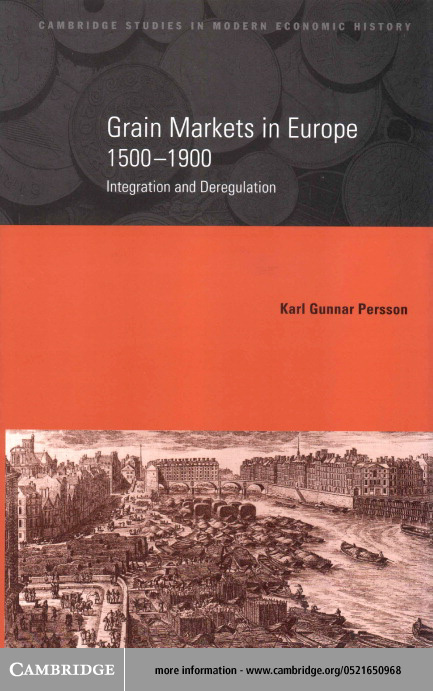 Grain Markets in Europe, 1500-1900