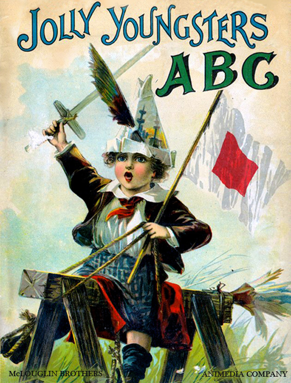 Jolly youngster ABC (Illustrated edition)