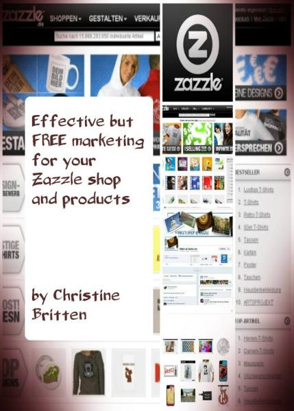 Effective but FREE marketing for your Zazzle shop and products