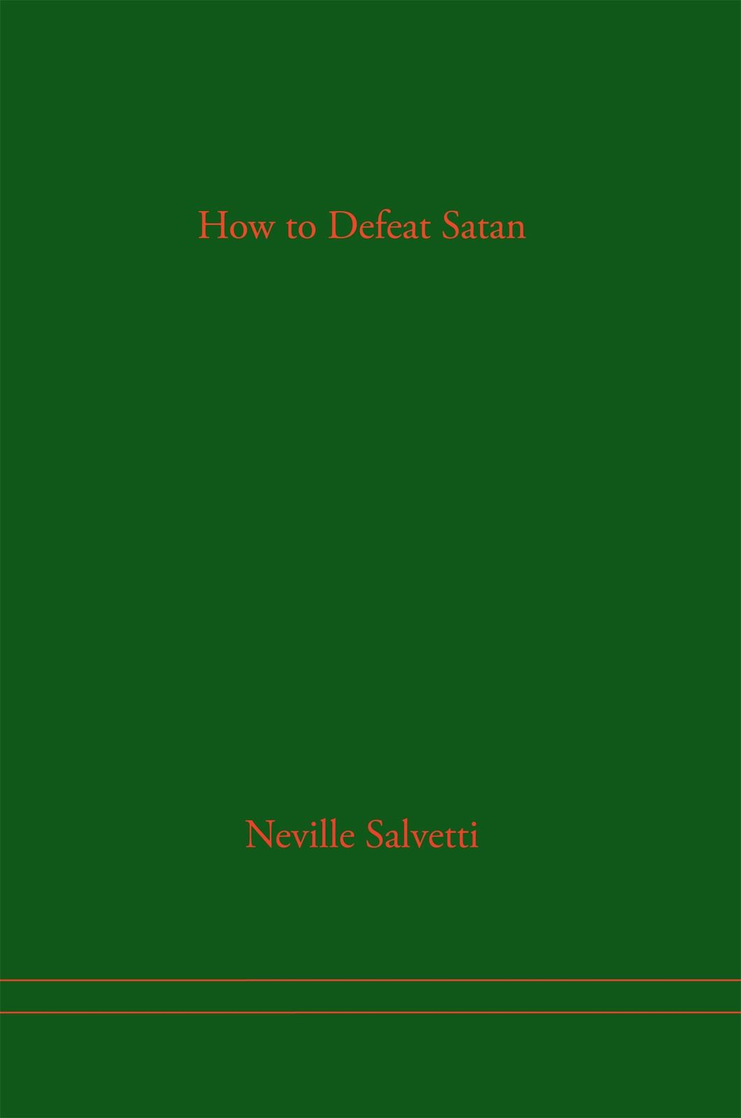 How to Defeat Satan