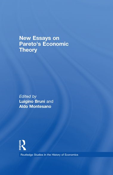 New Essays on Pareto?s Economic Theory