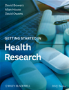 Getting Started In Health Research: