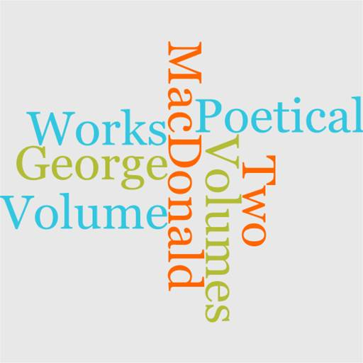 The Poetical Works Of George MacDonald In Two Volumes, Volume I