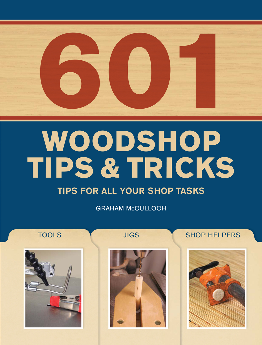 601 Woodshop Tips & Tricks By: Graham McCullouch