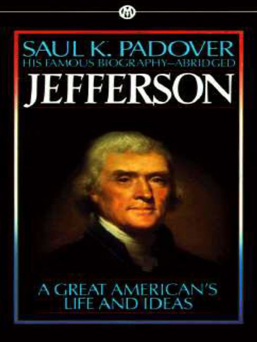 Jefferson By: Samuel K. Padover