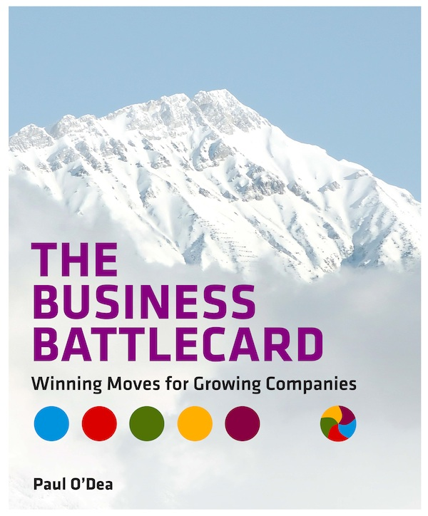 The Business Battlecard (fixed format iPad): Winning Moves for Growing Companies