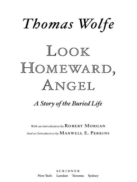an analysis of look homeward angel a coming of age novel by thomas wolfe His first novel, look homeward, angel:  feeling shameful for coming,  wolfe, thomas, the far and the near, in the complete short stories of thomas wolfe.
