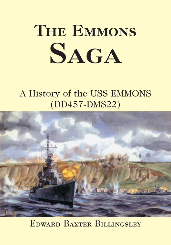 THE EMMONS SAGA By: USS Emmons Association