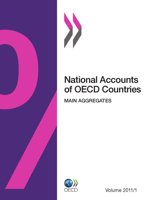 National Accounts of OECD Countries, Volume 2011 Issue 1: Main Aggregates