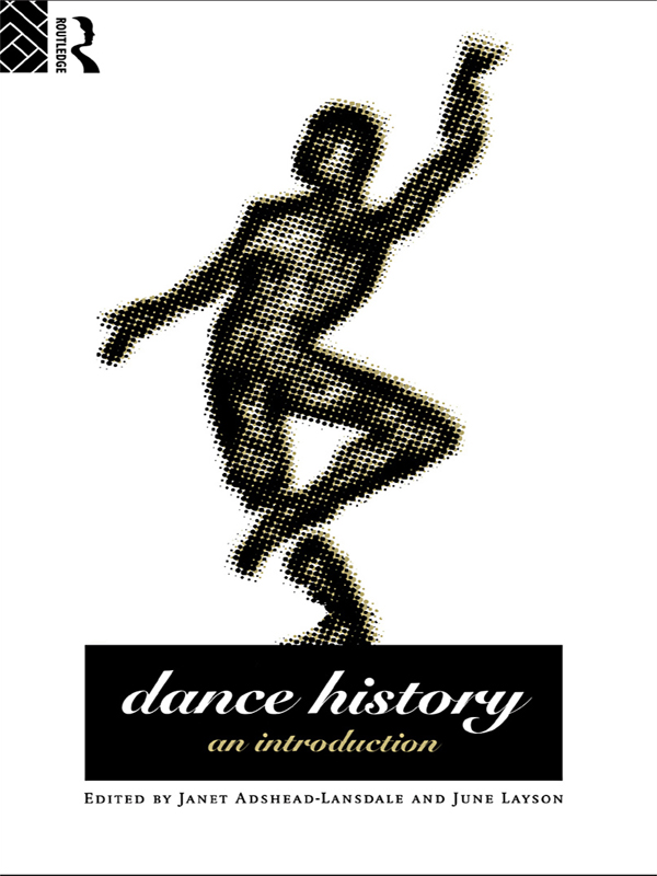 Dance History An Introduction